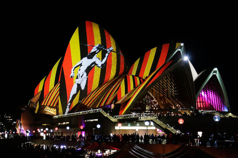Reko Rennie, Vivid Sydney Light Festival 2016