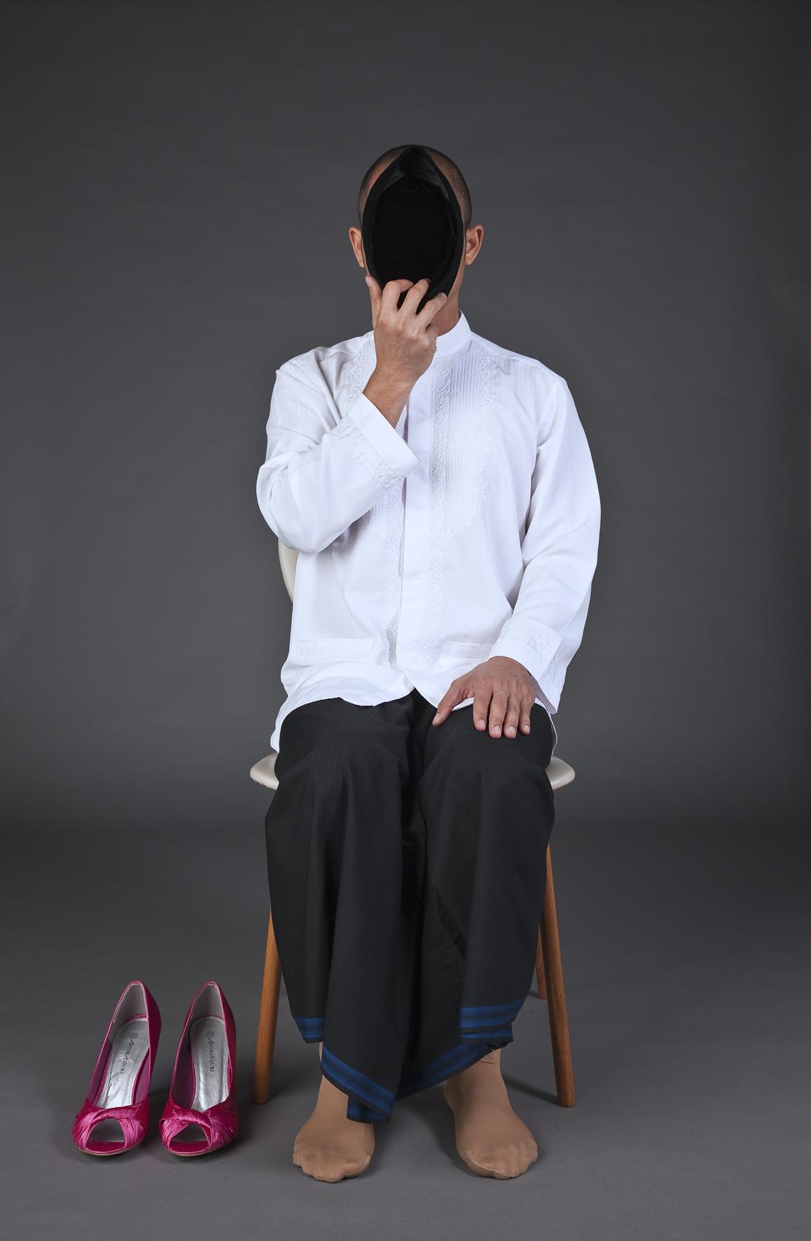 Val Wens, Self portrait 3