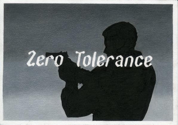 Marinka Bozzec, Zero Tolerance, 2017