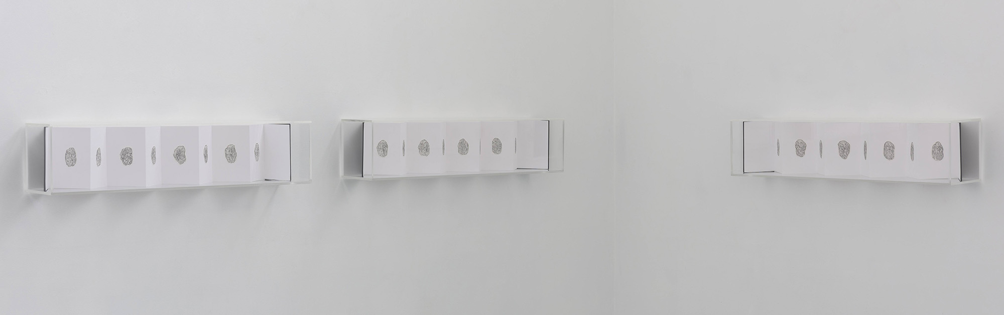 Helga Groves, Leap seconds, 2015, Installation view