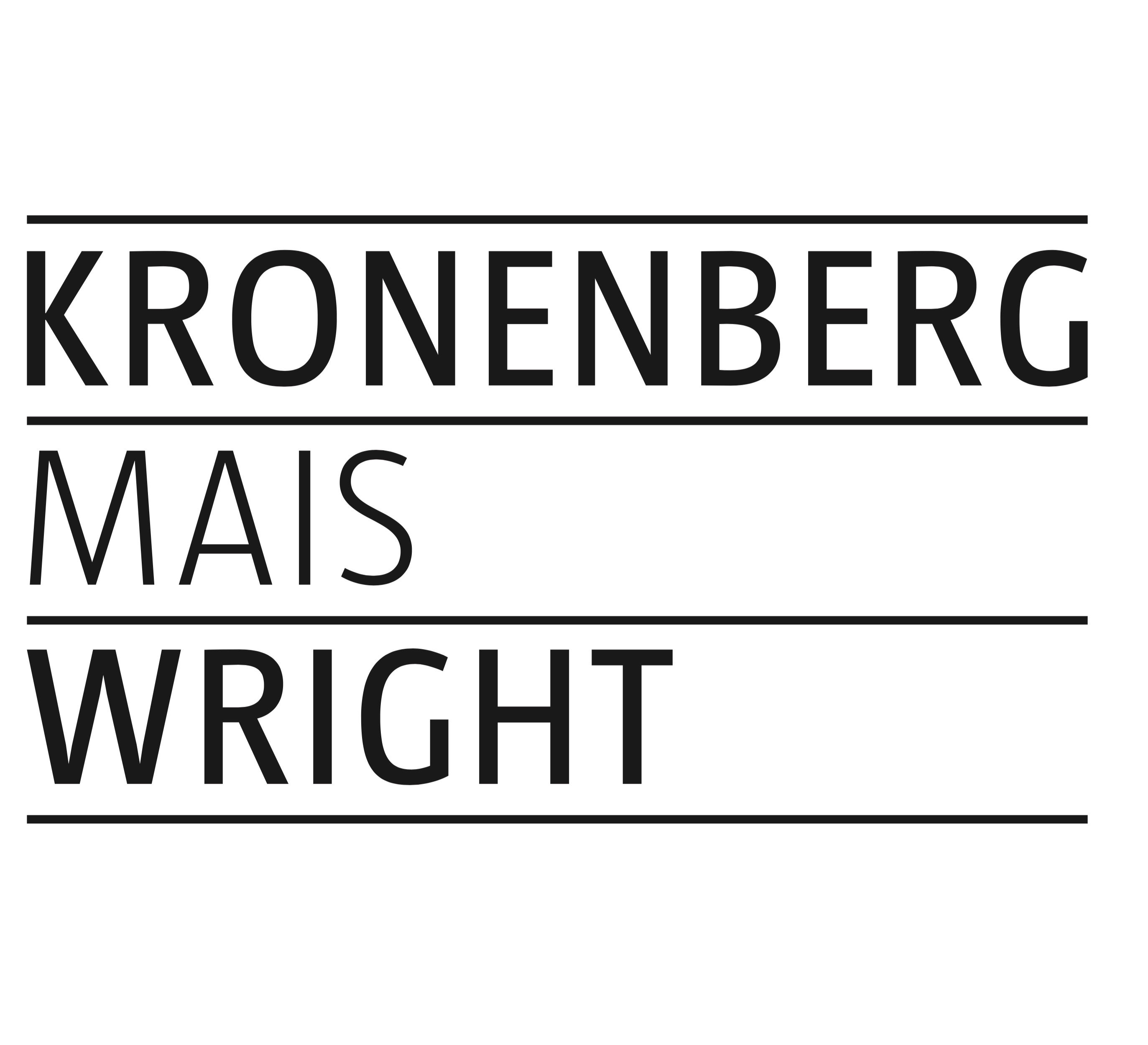 KRONENBERG MAIS WRIGHT